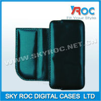 Flip Holster Leather Pouch Case for iphone 4 4s 5c 5g case