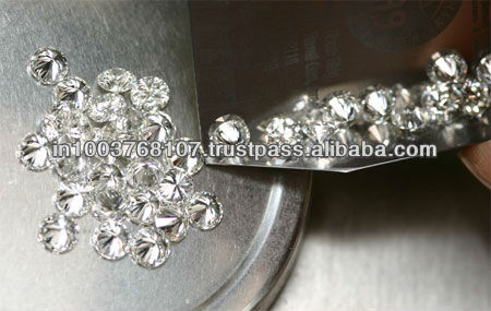 Real Round Brilliant Cut Diamond