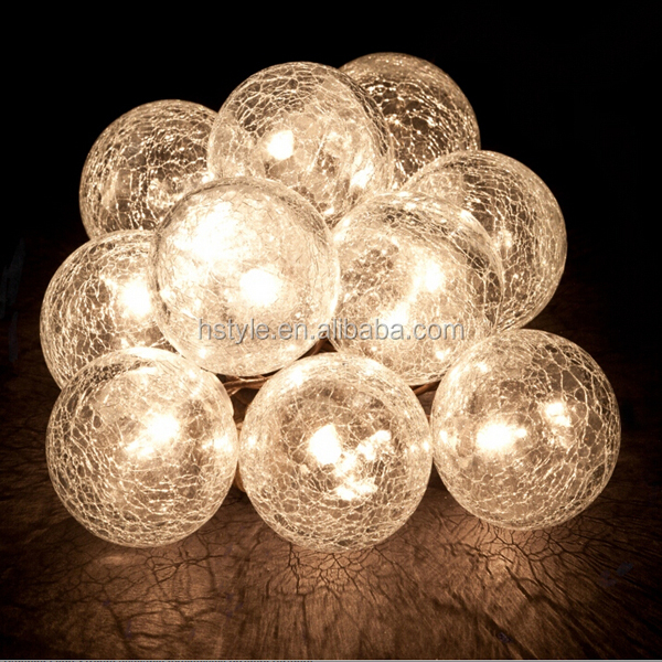 Globe Christmas String Lights Wedding Party Holiday Decorative Fairy Lights Hnl152 - Buy ...