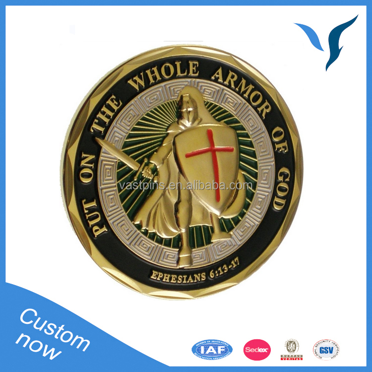 Custom Antiquue Plating Replica Metal Challenge Coins For Sale