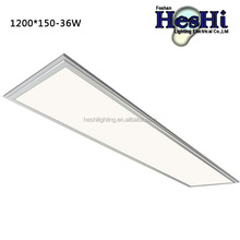 High Quality 150*1200mm SMD2835 Led Ceiling Panel 36W LED Panel Light with 3 Years Quality Guarantee