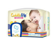 china factory good and cheap disposable Cuddle Me baby diapers