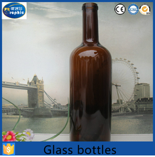 Different shape 75ml glass wine bottle for red wine/liquor