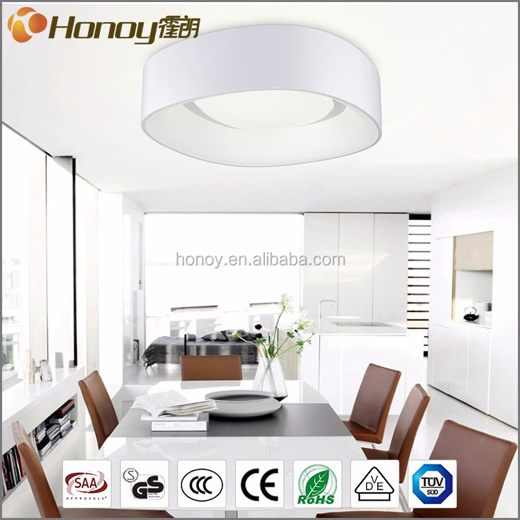 SGS approval high quality 3 years warranty 34W acrylic ceiling light modern led ceilling lamp for bedroom