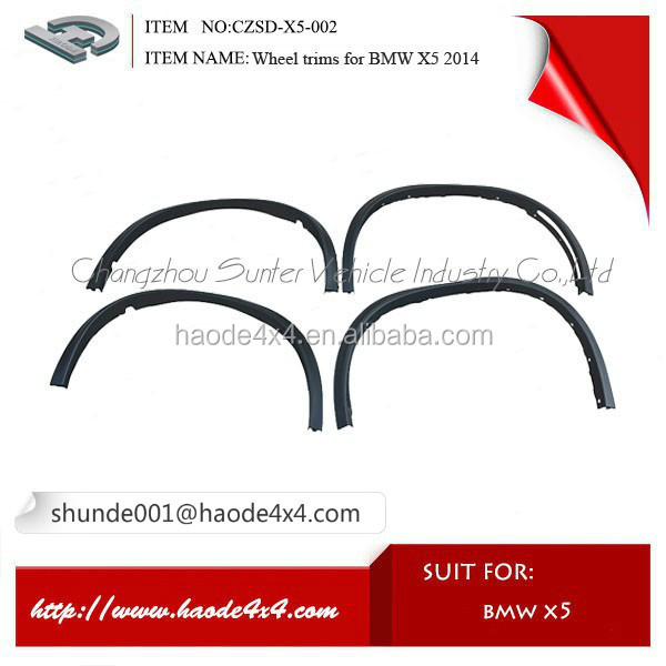 High quality best price wheel trims for X5 from Sunter company