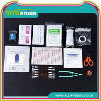 mini camping travel first aid kit ,ML0129, safety medical bag