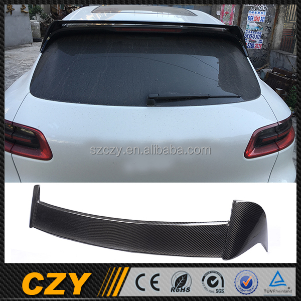 Aftermarket Carbon Car Spoiler for Porsch e Macan 14-16