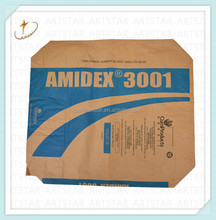 Chemical industry used paper packaging bag 25kg