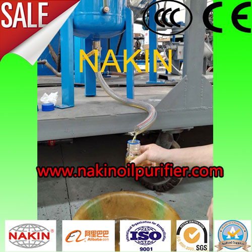 Black Engine Oil Bleaching Recycling Machines,Oil Refinery Mechinery