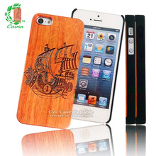 Pirate Ship Bamboo Phone Case for iPhone Bamboo Case for iPhone5