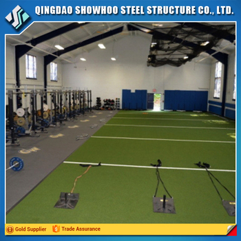 Prefabricated Insulated Building Steel Structure Gym Design
