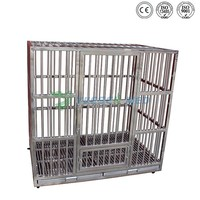 Good Quality Top Sell Stainless Steel Pet Dog Cage Singapore