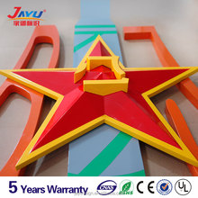 Unique 3m adhesive chrome car badges emblems