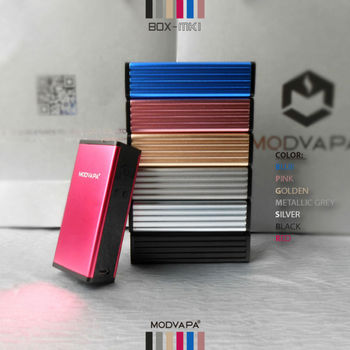 Hot selling quality single 18650 battery MODVAPA vapor mod 50W e-cig mod