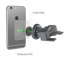 CD Slot Magnetic Car Mount Holder, for Cell Phones and Mini Tablets with Fast Swift-Snap Technology, Magnetic cd slot mount hold