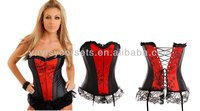 wholesale hot sale zipper front plaid lingerie sexy costumes and women secret lace lingerie