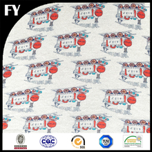 new style Custom digital print 100%cotton knitted fabric