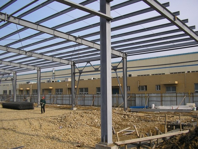 Steel structure buildings for workshop,warehouse with SGS,CE certificate