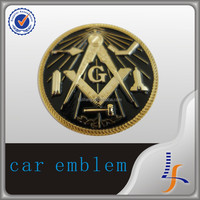 die cut metal badges auto logo car emblem car badge