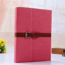 Mobile accessories PU material Fancy Book style Belt leather case leather case for ipad air 2 alibaba china