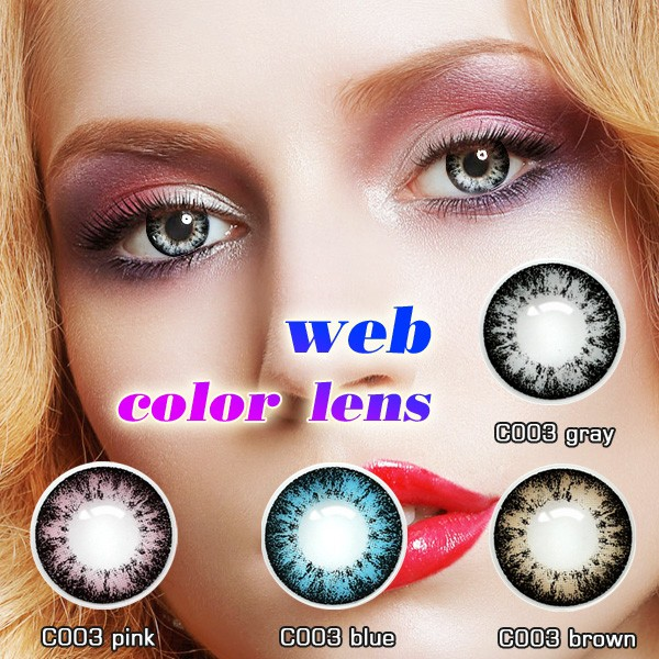 sky gray,blue,brown lenses color various big eyes contact lenses