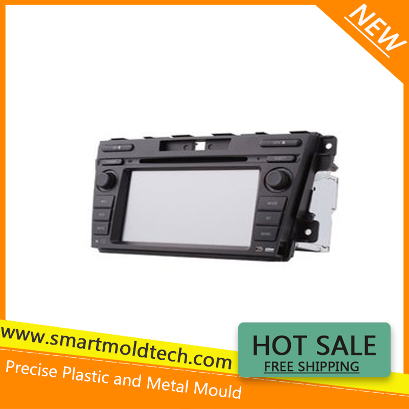 Android touch screen mirror link 3G wifi Flash car DVD player plastic mould OEM factory
