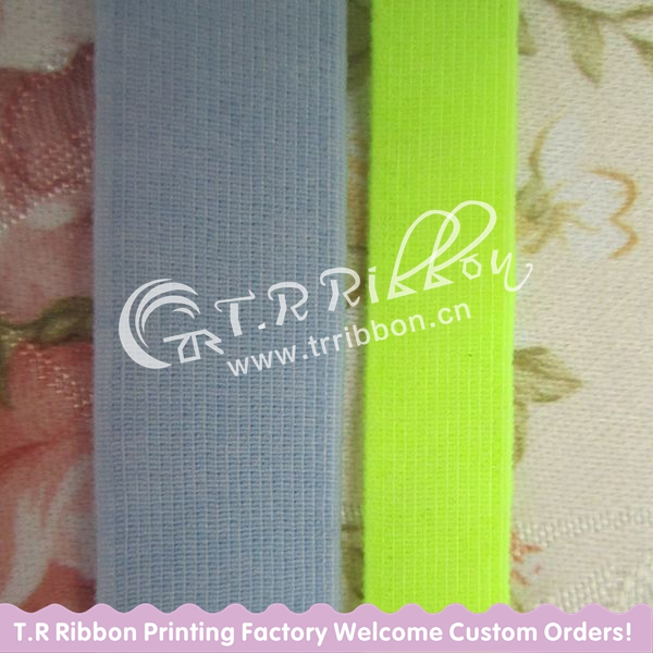 high color elastic ribbon