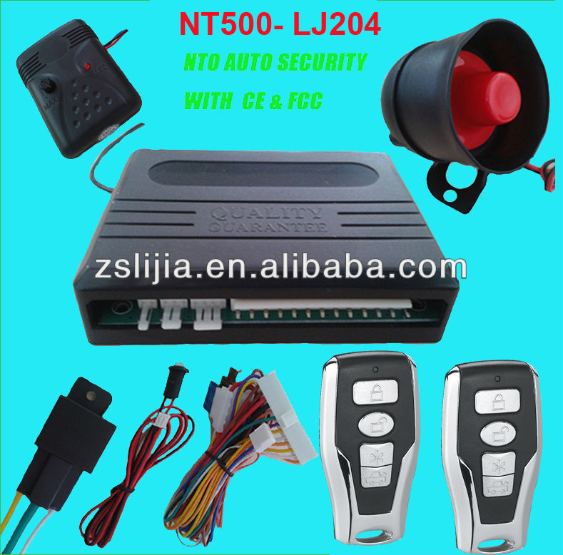 Wheels Car Alarm System, Car Alarm China Factory, High Quality Cheap Car Alarm