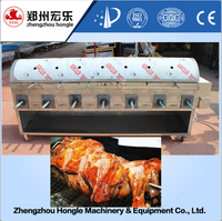 Barbecue beef machine roasted meat machine