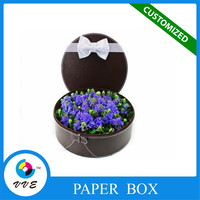 Customized flower paper packing box pandora packaging box made in china