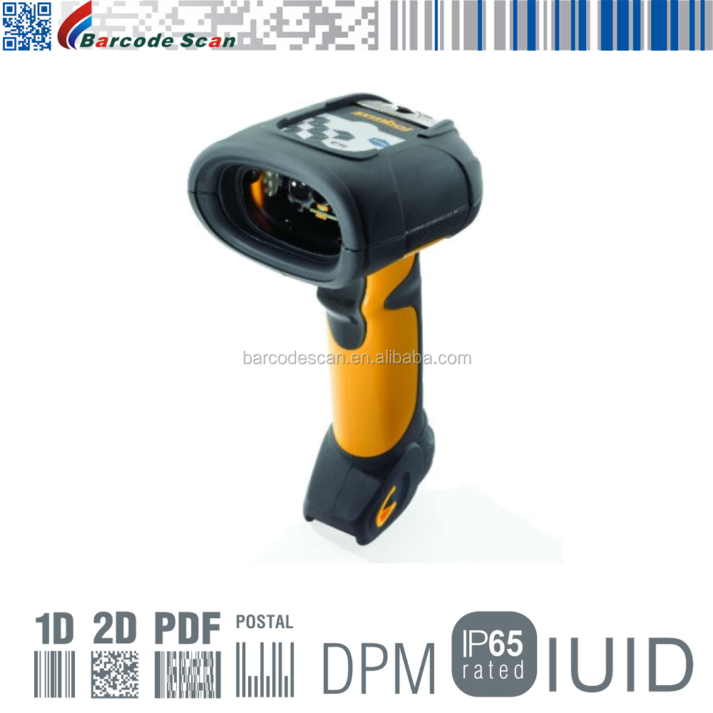 Robust Industrial Scanner With CMOS Imager Symbol DS3508 Handheld 2D Barcode Scanner