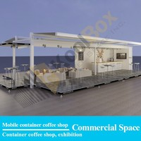 2016 the latest mobile shipping container coffee bar/shop design, shipping container coffee shop for sale