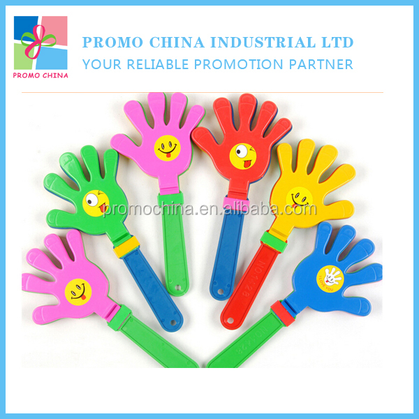 2016 Cheap Promotional OEM Clap Your Hands Toy for Holiday Party Gifts