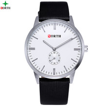 NORTH Company Custom Logo Luxury Quartz Advance Watch for Men