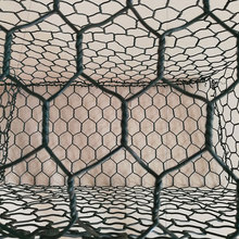 China pvc coated stone cage for retaining wall rock basket wire mesh
