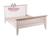 modern furniture design white queen size wooden bed frame