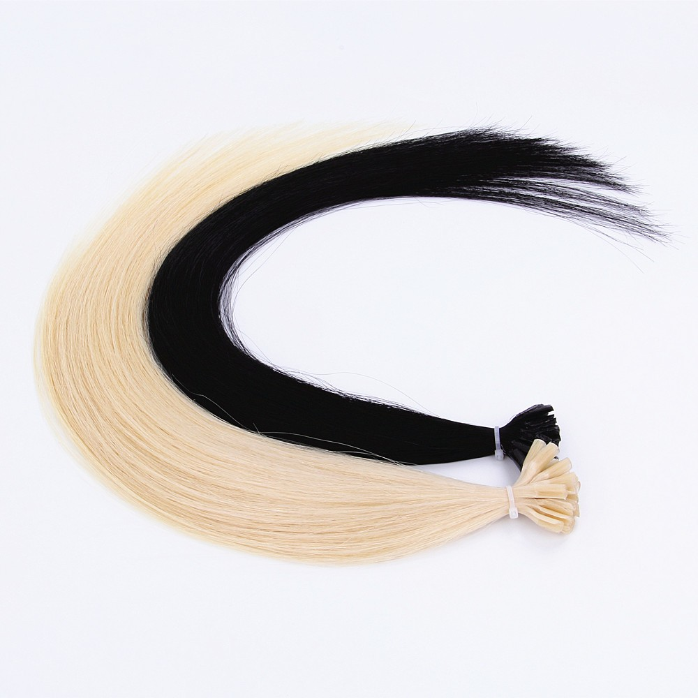 Virgin Remy Cuticle Human Keratin Prebonded Hair Extension