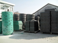 Composite Fiberglass Electric Well Cover Manhole Duct & China Supplier Composite Pressure Vessel of Manhole