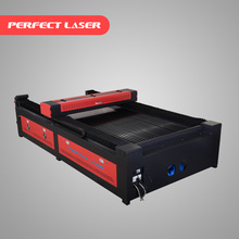 1325 textiles / leather / cloth laser cutting machine / co2 laser engraver with up down table