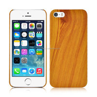 Elegant slim bamboo case hard wood cover for iPhone 5/ 6