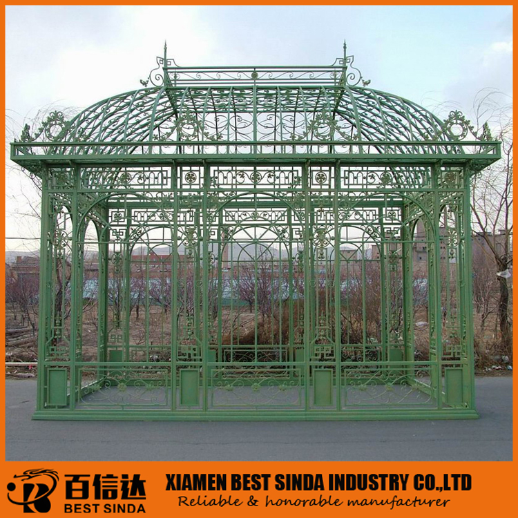 Customed outdoor metal gazebo for garden