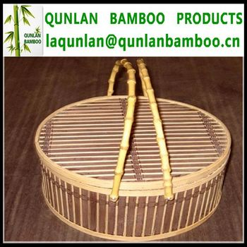 High Quality Big Bamboo Baskets