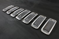 Car mesh Grille for Jeep Patriot 2011+car accessories