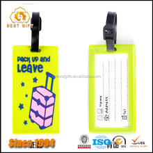 New Fashion Wholesale Colorful not yours plastic luggage tag