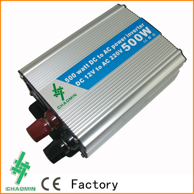 500W DC 24V to AC 220 Modified Sine Wave Power Inverter Automobile Car Boat DC AC Power Inverter Convert USB Port