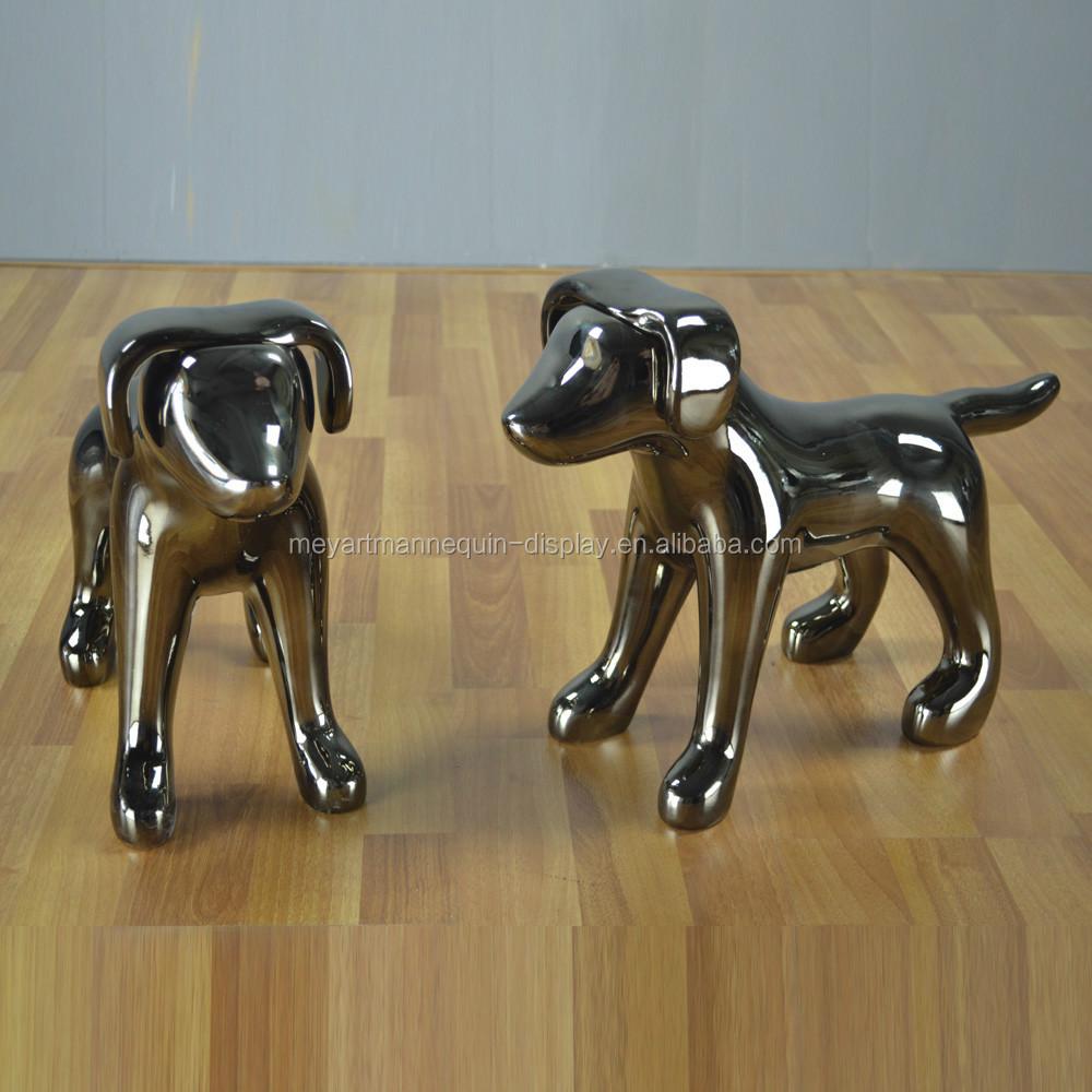 Fibra de vidrio mate te negro maniqu perro para shop - Maniqui de perro ...