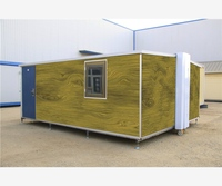 design portable log decorate eps sandwich panel 2story folding container house for sale