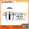 High Quality Stainless Steel Cooking & Steaming Pot