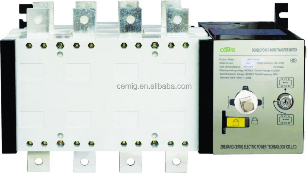 High quality Double Power Automatic Transfer Switch ATS CMGQ2-1250 1000A