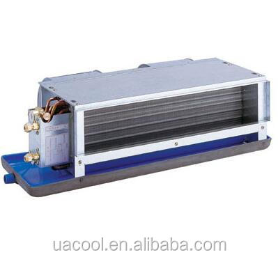 Water Chilled Fan coil wall mounted Horizontal Fan Coil chilled water Duct Installation 2 pipe and 3 rows